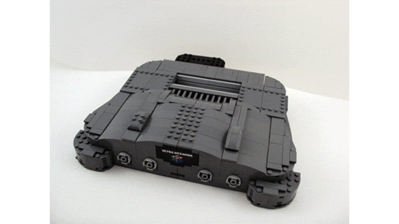 These LEGO Nintendo 64 Transformers Are Just Too Awesome