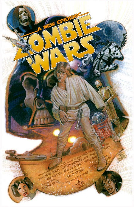 Star Wars Zombie Poster Gallery