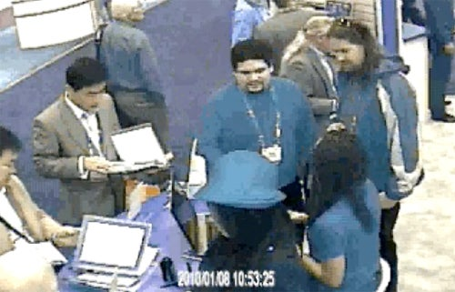Thief Gamely, Weirdly, Stupidly Tries to Rob a Security Company at CES