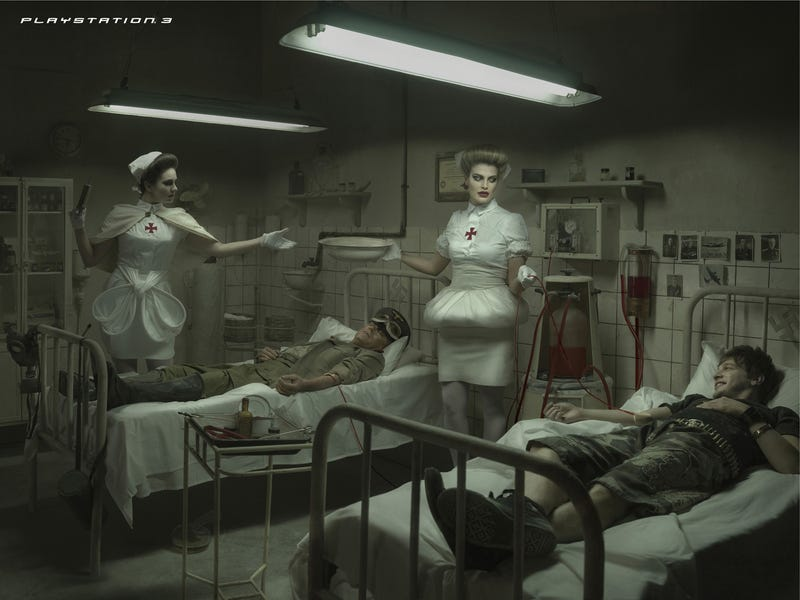 PS3 Ads Still Not Learning: Nazi Blood Infusion Madness