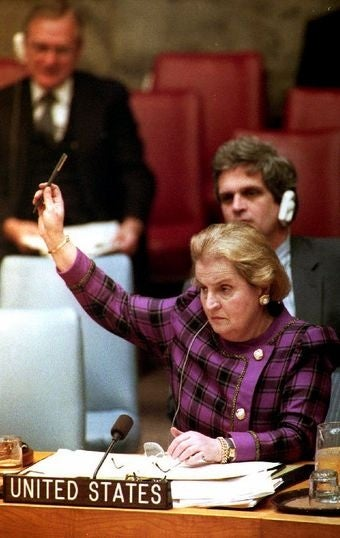 "Albright Says U.N. Ambassador Appointment, ""Gave Me A Great Excuse To Shop"""