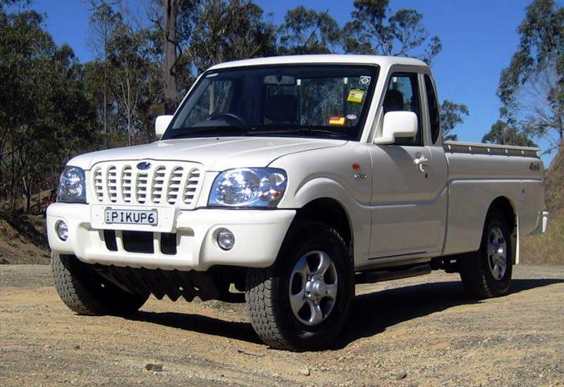 Mahindra Pickup Trucks Hitting U.S. Shores This Year?