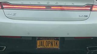 Jalopnik all the plates!