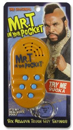 Mr. T's Favorite Gadget