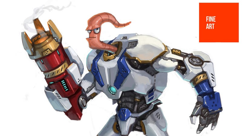 Earthworm Jim, You're Looking...Different