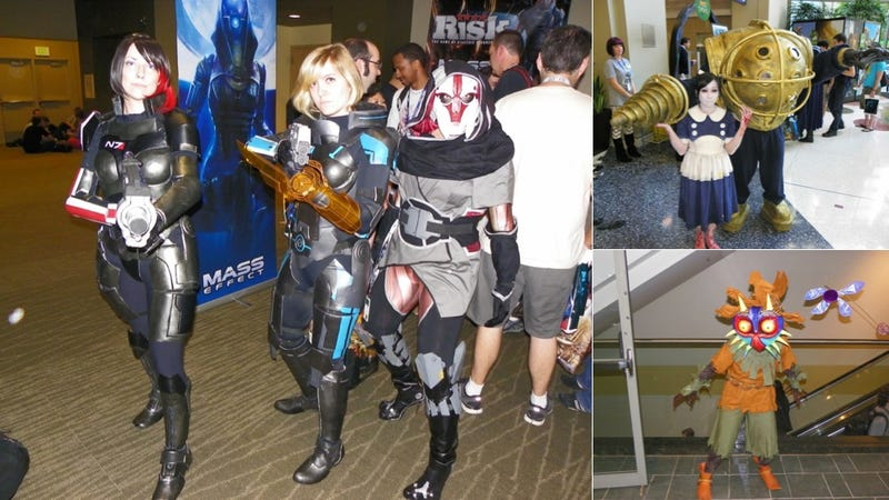 PAX Cosplay: Near-Naked Sims Dude, a FemShep Team-Up and Dark Phoenix