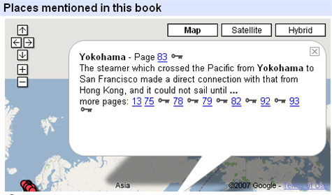 Google Book Search: now with maps