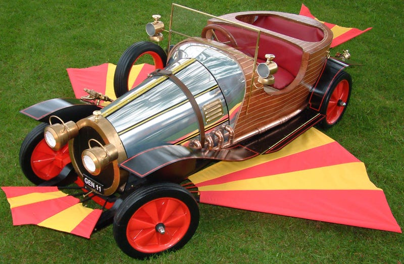 The immense challenge of writing a sequel to Chitty Chitty Bang Bang