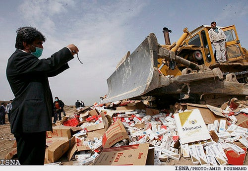 Radioactive Marlboro Cigarettes Spook Iranian Officials