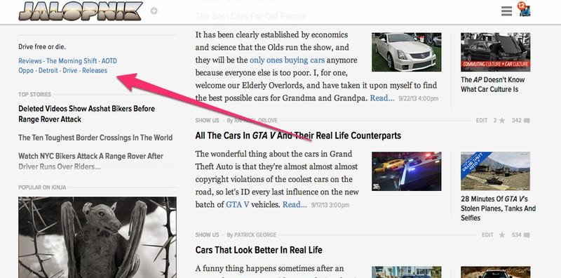 Releases Will Let You Comment On The Best/Worst Auto Press Releases