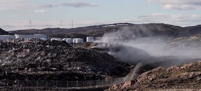 "A ""Dumpcano"" of Trash Erupted in the Arctic and Won't Stop Burning"