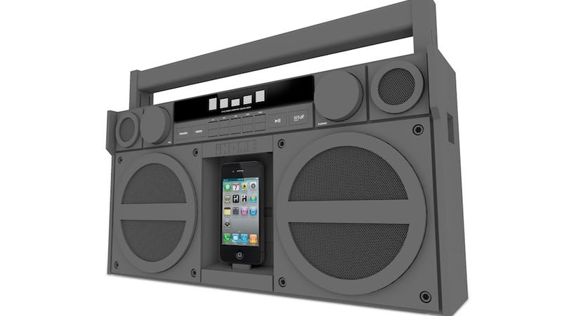 If Only More Gadgets Looked Like iHome's iP4 Boombox