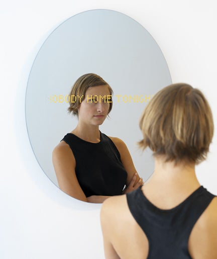 +336+ Mirror Displays Your SMS Alongside Your Utter Sad-Sackness