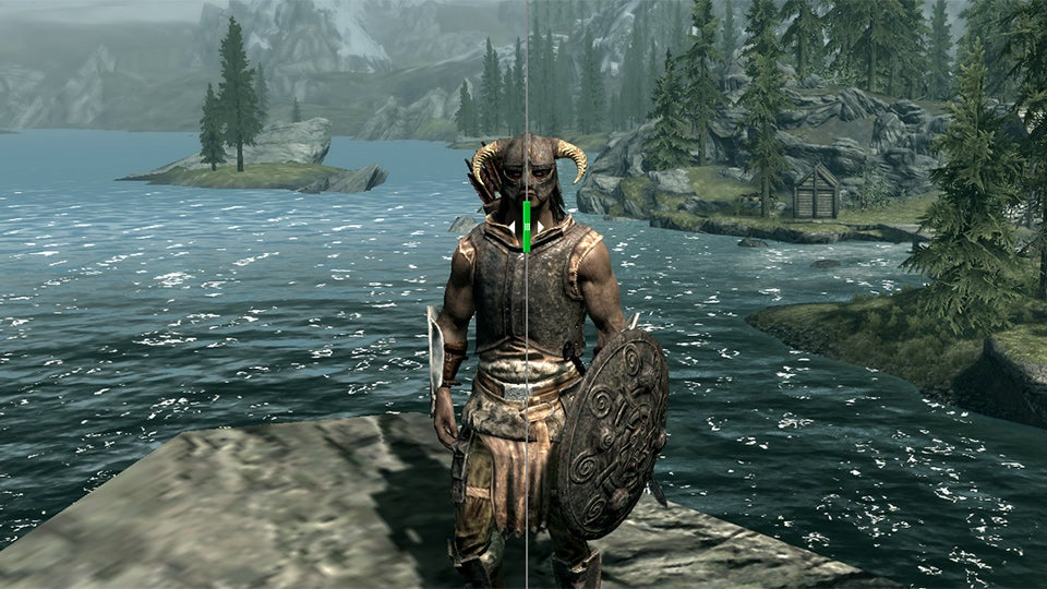 skyrim how to change level pc