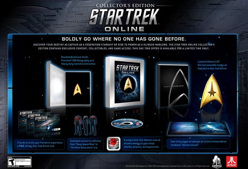 What's In The Star Trek Online Collector's Edition?