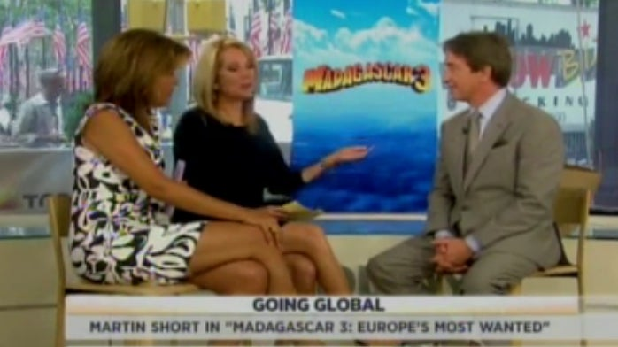 Oof: Kathie Lee Gifford Asks Martin Short How His Deceased Wife Is Doing