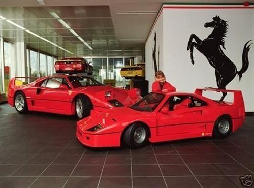 Scaled Down Ferrari F40