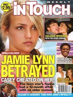 This Week In Tabloids: Suri Battles Shiloh, Jamie Lynn Gets Cheated On, Britney's OK!