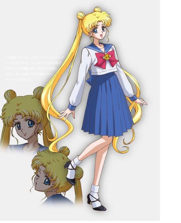 Sailor Moon's Got A New Look