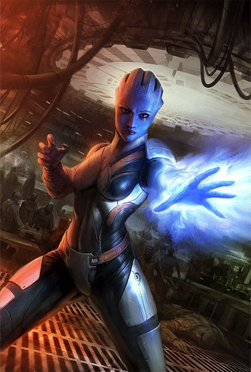 EA, Dark Horse To Pleasantly Shock You With Mass Effect Comic Series
