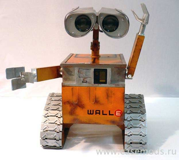 Wall-E GameCube Mod is Too Cute (but Not Too Cute for the Giz)