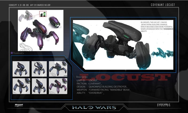 Ensemble Says Goodbye With Halo Wars Concept Art