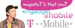 Mr. T-Mobile Warns Mr. Engadget Mobile Over the Color Magenta