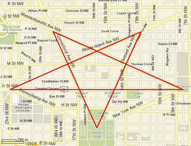 Are The Streets Of Washington DC Supposed To Form A