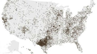 Map of Literally Every Goat in America Is Most Important Map Ever