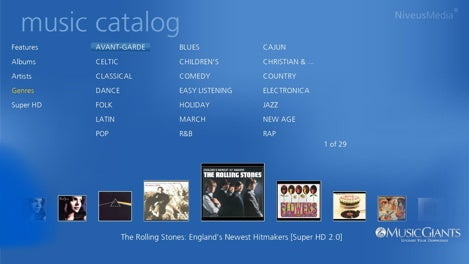 Niveus and MusicGiants Offering HD Music Downloads