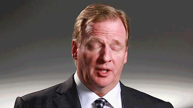 The Many Horrible, Stupid Faces Of Roger Goodell: A Gallery Of Authoritarian Derp