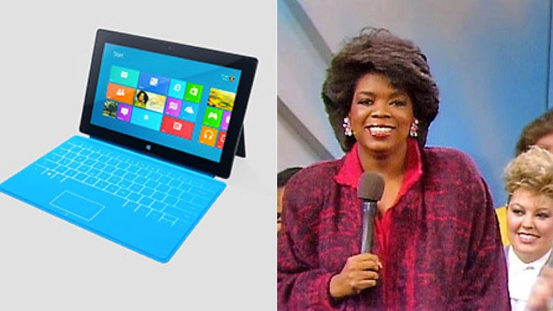 Microsoft Surface: The Oprah Benchmarks Are In
