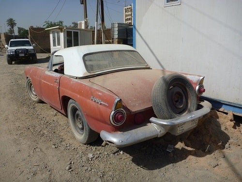 1956 Ford Thunderbird Down On The Baghdad Street