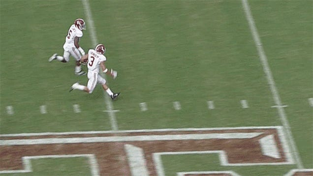 Johnny Manziel: Not A Strong Tackler