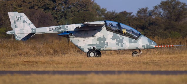 ​Africa's First Indigenous Aircraft Will Compete With Surveillance UAVs