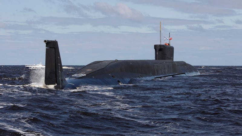 Russia's Newest Ballistic Missile Sub Something Something Red October