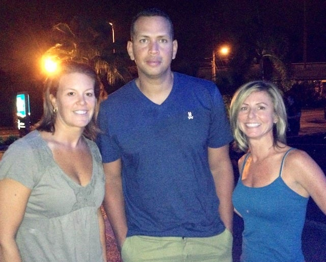 Here's A-Rod Looking Miserable As He Poses For A Photo With Fans