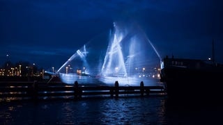 Ghost Ship Appears In Amsterdam