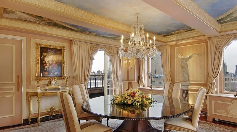 Rush Limbaugh's Gaudy Fifth Avenue Penthouse Is Now For Sale