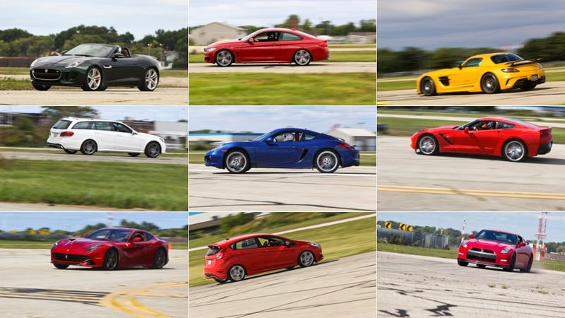 Driving The Shit Out Of The Best Performance Cars You Can Buy