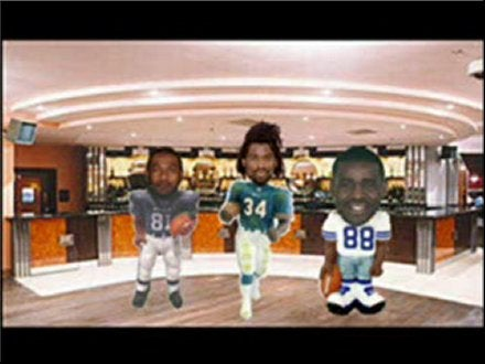 Michael Irvin, Koren Robinson, And Ricky Williams Have A Song For You