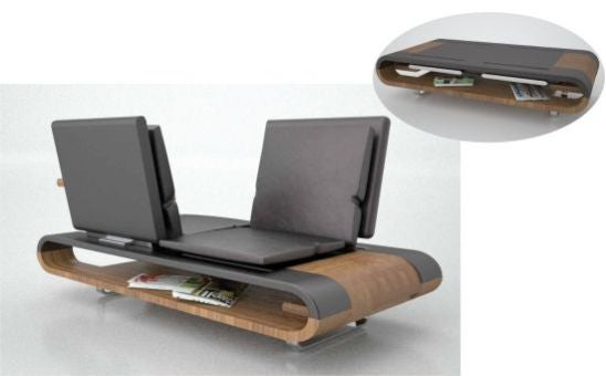 Calypso Chair Is a Living-Room Office, Does Everything But Let You Go to the Bathroom