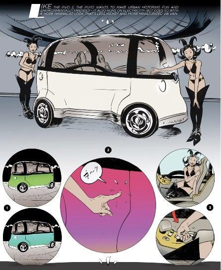 Paul Pope Presents Japan's Futuristic Cars