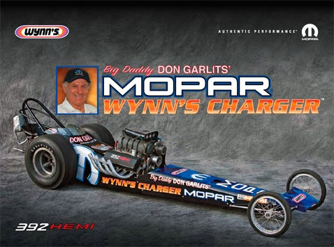 SEMA 2007: Big Daddy and Mopar to Burn Nitro Again