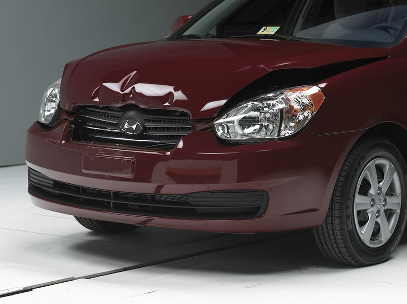 IIHS: Small Cars Are Big On Damage In Low-Speed Collisions