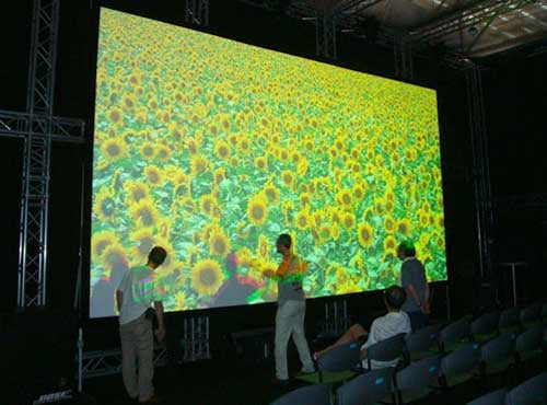 NHK Projector Features Insane 7680 x 4320 (8K) Resolution