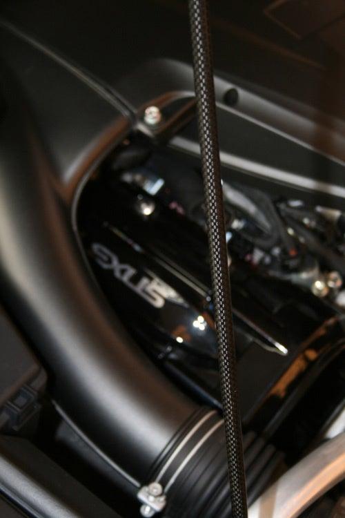 Lexus LFA In Matte Black Shows Off Coolest Carbon Fiber Bit