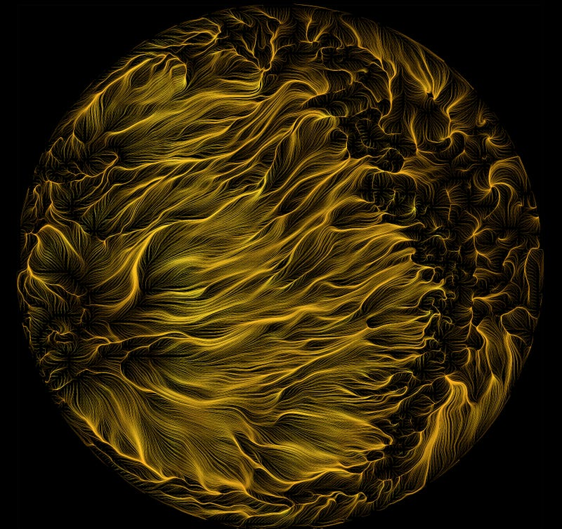 Turbulent Liquid Mercury Creates Stunning Scientific Art