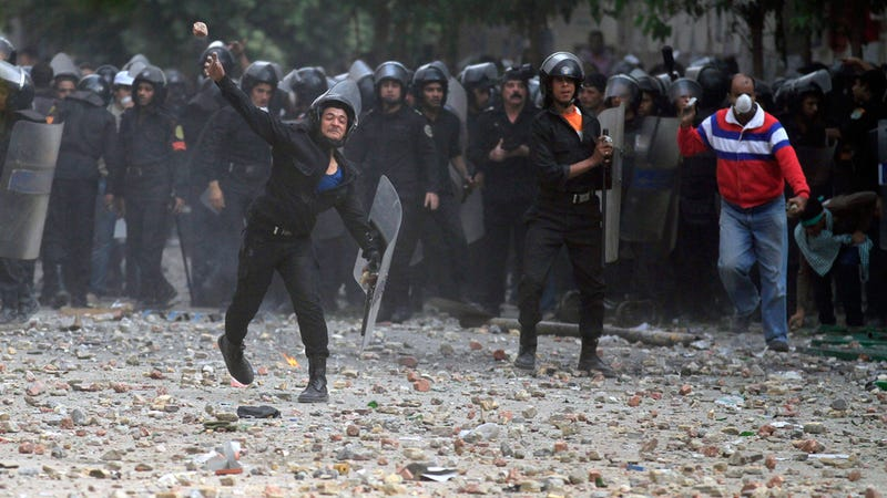 How Egypt Justifies Its Brutal Crackdown: Occupy Wall Street