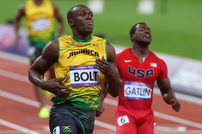 Photos Of Usain Bolt Looking Bored As He Blows Past The Best Runners In The World